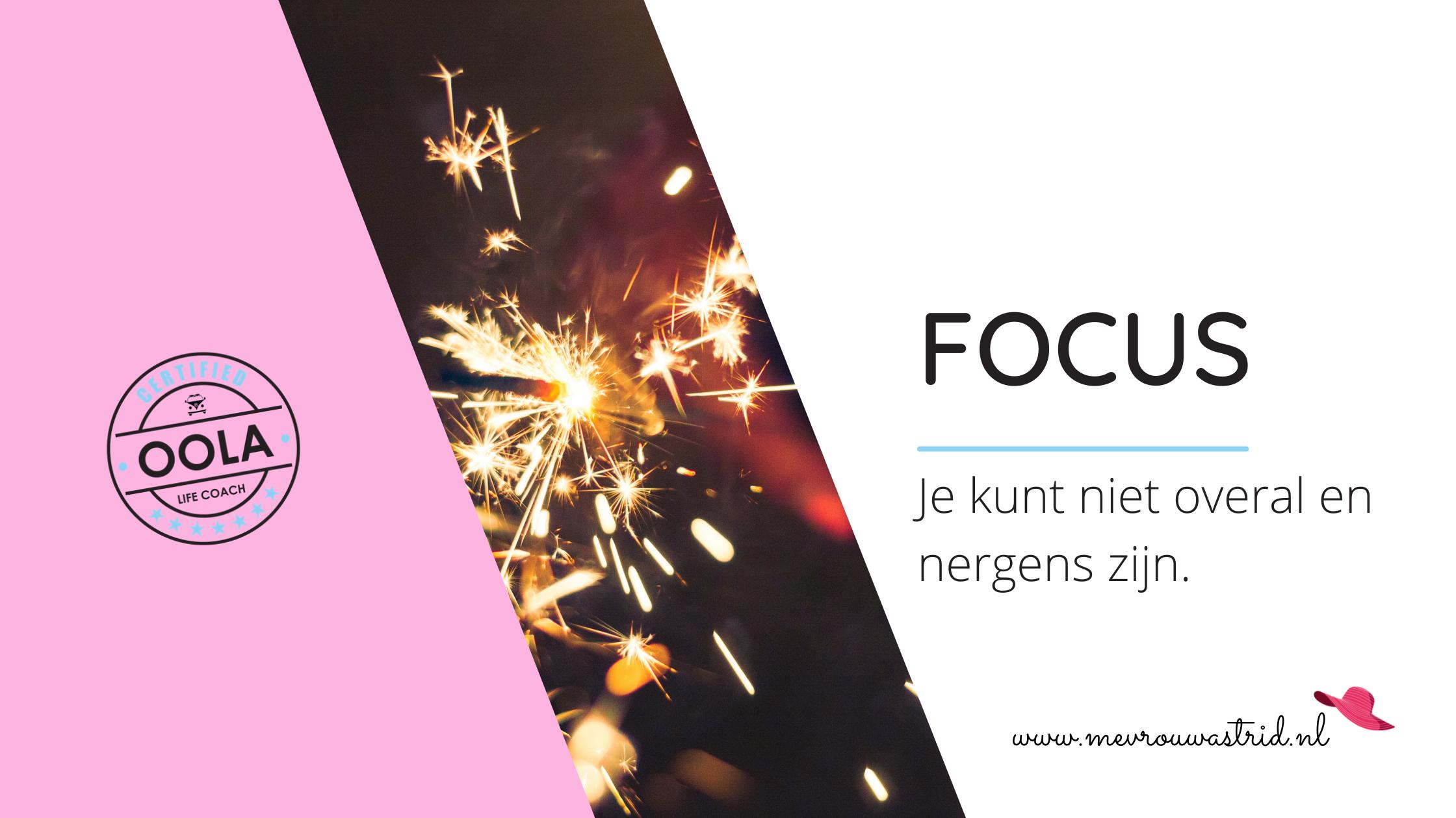 Gebrek aan focus